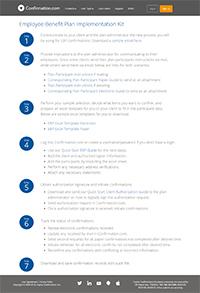 Kit básico do plano de benefícios para funcionários (EBP)