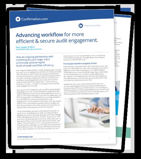 Faça download do estudo de caso sobre como melhorar a eficiência de seu fluxo de trabalho de auditoria